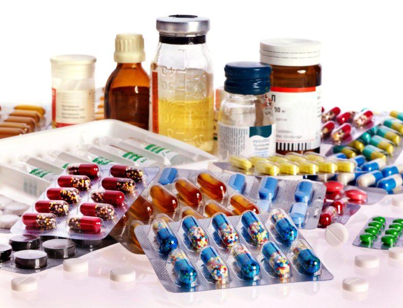 Антибиотики от грибка