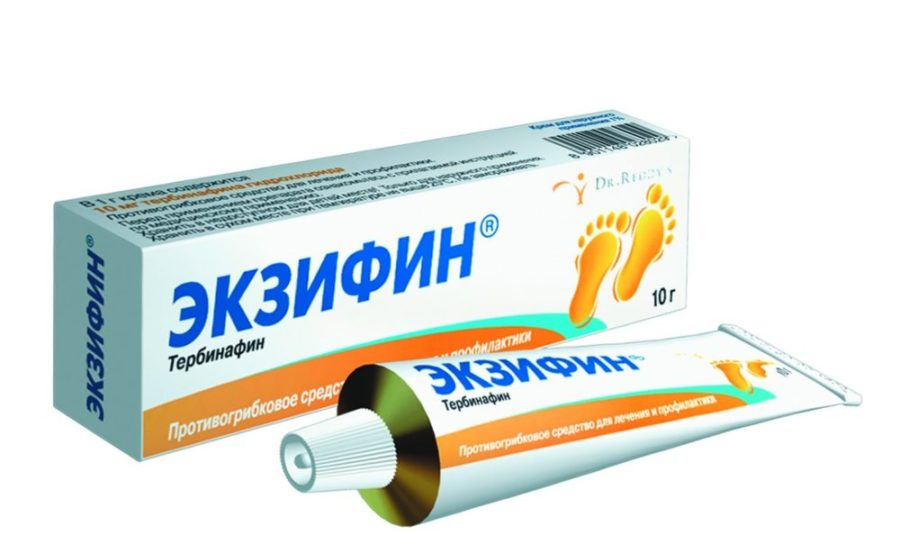 «Экзифин»: таблетки и крем от грибка