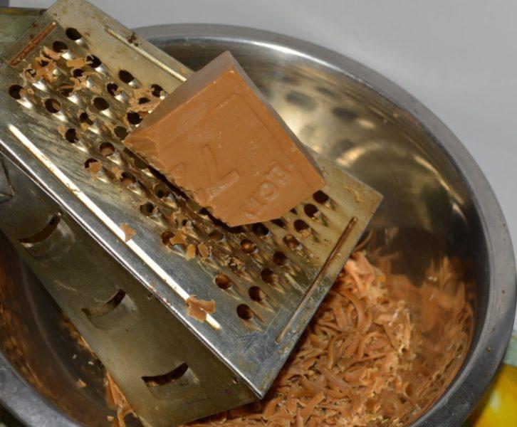 удаление папиллом хозяйственным мылом