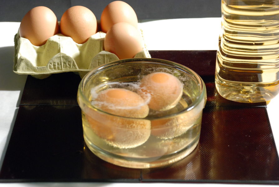 Яйцо в уксусе