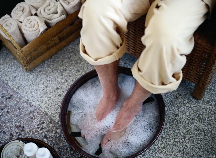 Ванночки с дегтярным мылом