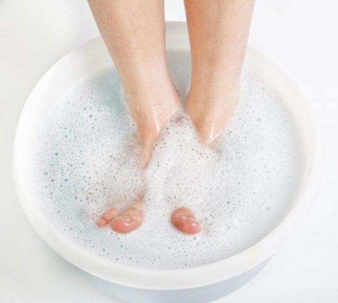 Содержание ног в чистоте