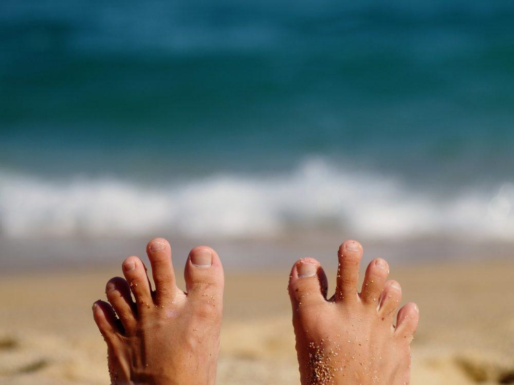 Лечение грибка на пальцах ног и между ними