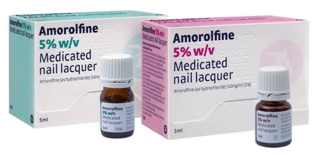"""Аморолфин"" от грибка ногтей"