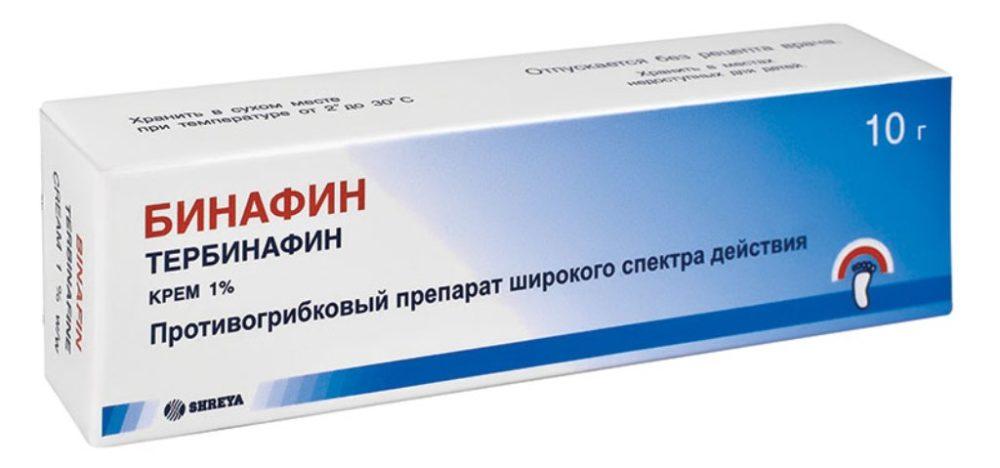 Бинафин от грибка ногтей: состав, отзывы, показания и инструкция к применению