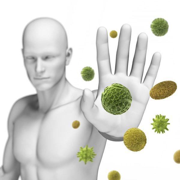 Вирус атакует организм