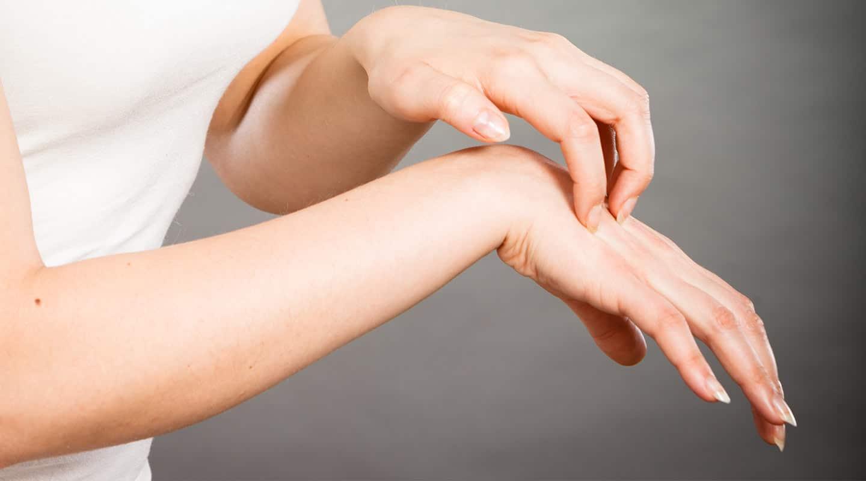 Бородавка на руке