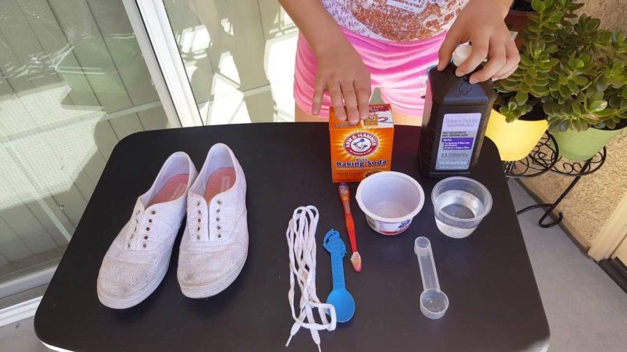 Дезинфекция обуви содой
