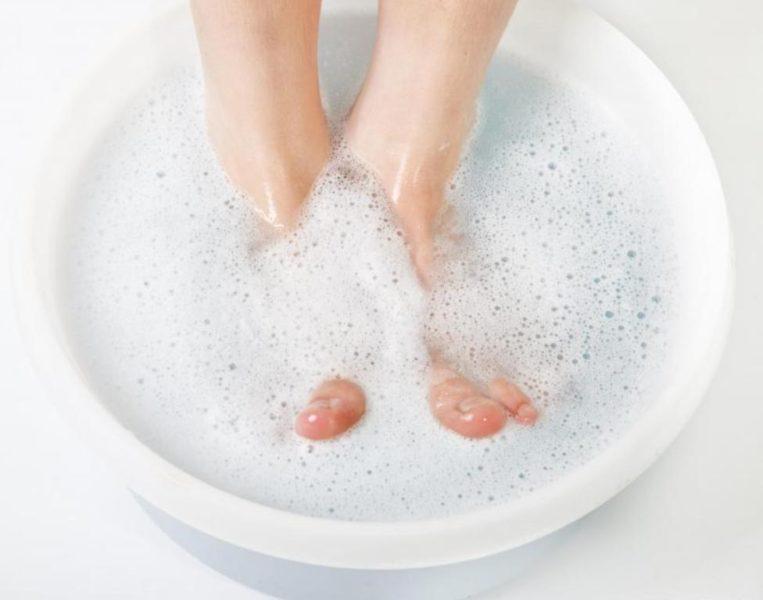 Распаривание ног
