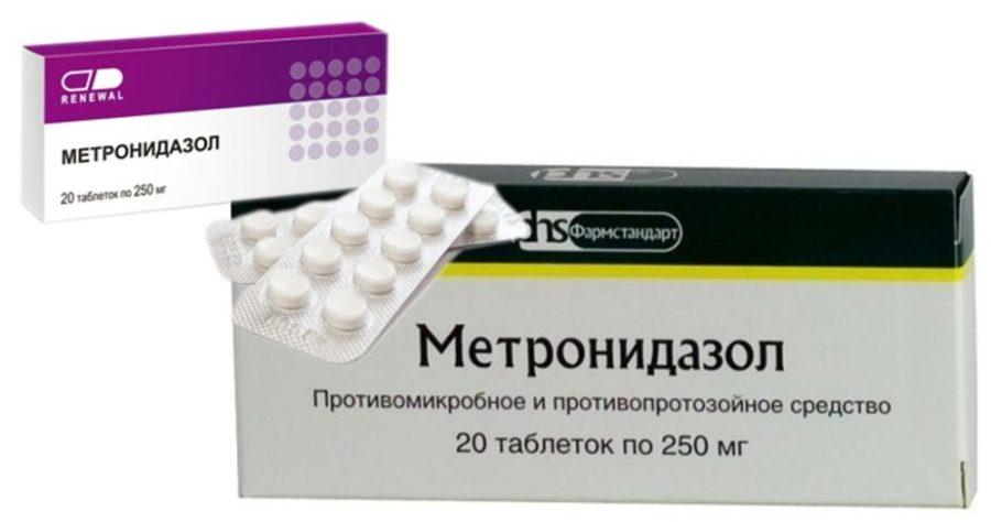 """""""Метронидазол"""" в таблетках"""