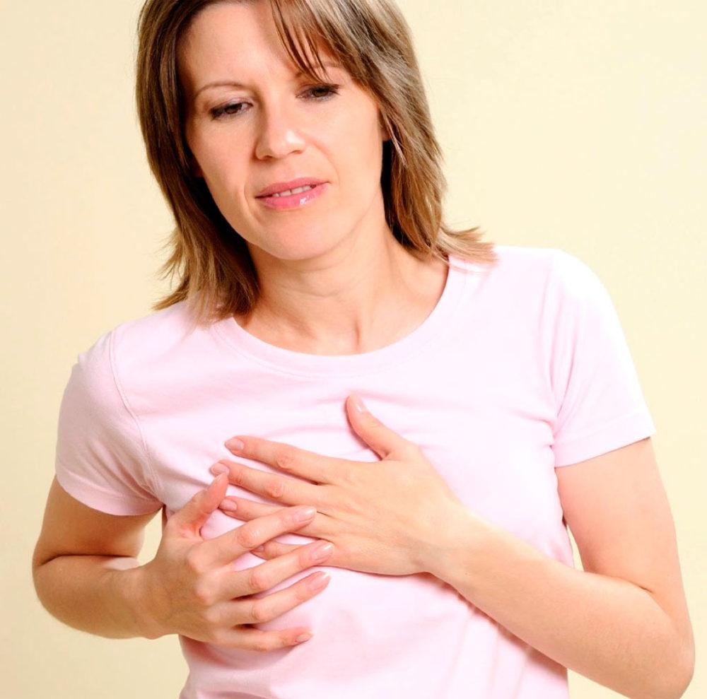 Молочница грудных желез