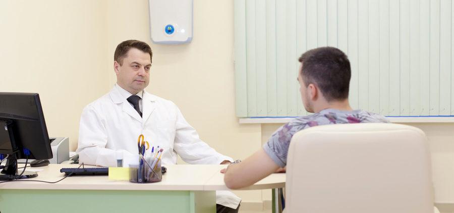 Консультация с врачом для подбора мази